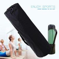 요가 매트 배낭 새로운 편의 요가 매트 통기성 메쉬 가방 두꺼운 방수 배낭 가방 나일론 조정 가능한 스트랩 스포츠 도구