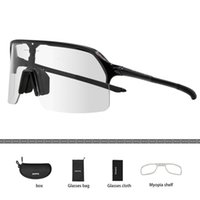 2021 Men Women Cycling Photochromic 1 Lens Glass Racing MTB Goggle Road Bike Riding Sunglass Bicycle Retro Sport Eyewear
