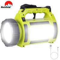 100W portatile Led Camping Light Lavori da lavoro Tenda da esterno USB Ricaricabile Lanterna impermeabile Ricerca lanterne Lanterne