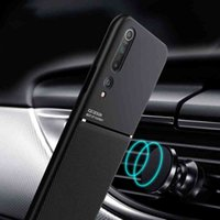 Poco x3 silicone magnetic buffer cases for xiaomi mi 10t 9t note lite 10 a3 f2 pro 8 if m2 x2 mix 3 nfc shock proof cover
