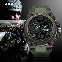 Designer Watch Marque Montres Montres de luxe LED Numérique 3ATM Étanche Modificateur Militaire Micule Horloge Relogios Masculino