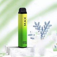 100% Original Factory E cigarette Disposable Vape Pen 5% 1800 puffs BREZE STIIK MAX 8 Colors Electranic Cig Wholesale Bulk Price
