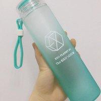 Accompanying Water Cup Portable Bottle XIUMIN SUHO LAY BAEKHYUN CHANYEOL D.O. KAI SEHUN WE ARE ONE Kpop Glass