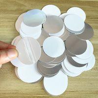 38-миллиметровые диски пустые алюминиевые сублимационные вкладыша для индивидуальных автомобильных держателей монтажа держатель мобильных телефонов