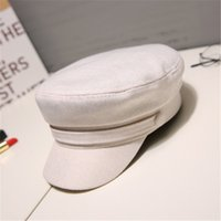 21SS Duck Tongue Beret Fashion Holiday Party Hat Womens Cotton And Hemp Octagonal Hats High Quality Sun Hat Tide Fisherman Hats