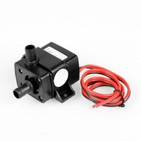 Air Pumps & Accessories Pool Pump Ultra Quiet 240L H Water DC 12V Solar Brushless Motor Circulation Submersible 4.8W Watering