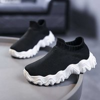 Designers Kids Athletic Outdoor Shoes 2021 Kanye Toddlers Trainers v2 Clay Black Triple White Antlia Children Sneakers Boys Girls Running