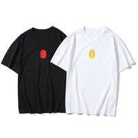 여성 T 셔츠 편지가 프린트 패턴 티셔츠 레이디 슬림 스타일 반팔 여름 통기성 티셔츠