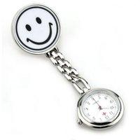الكلاسيكية لطيف مبتسم الوجه ممرضة الطبيب الساعات الكوارتز الرجعية جيب ووتش هدية 6 قطع