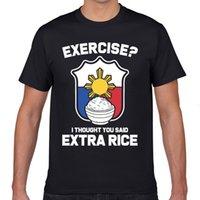 Tops t gömlek erkekler filipin filipino Filipinler pinoy bayrağı temel siyah geek kısa erkek tshirt xxxl