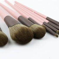 11 Pcs Makeup Brushes Loose Powder Brush Eye Shadow Brush Set Brush Cosmetic Bag Makeup Tools