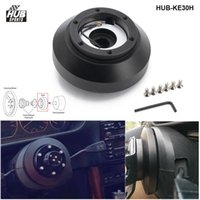 Hubsport Aluminum Racing Steering Wheel Short Hub Kit Adapter Boss Kit For BMW E30 3- 5-SERIES 318 325 528 M3 M5 84-90 HUB-KE30H