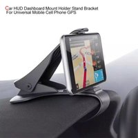 Interior Decorations Car HUD Dashboard Mount Holder Stand Bracket For Universal Mobile Cell Phone GPS Accessories Hanging Accessorie