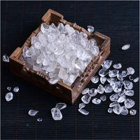 100g 자연 크리스탈 자갈 표본 로즈 쿼츠 자수정 집 장식 수족관 치유 에너지 돌 바위 미네랄 1334 T2