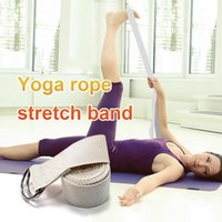 Resistance Bands White Cotton Stretch Belt Gym Shaping Yoga Rope Can't Afford The Ball No Lint Stretching Strength Training Trusted