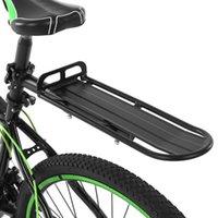 Bicycle Asiento trasero Rack retráctil MTB Bike Aluminio Aleación Pan Pannier Equipaje 9kg Carrier de carga Ciclismo Suministros planos Coche Racks