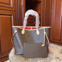 Tote Bag Donna Shopping Bags Designer Borsa 2021 Borsa in vera pelle di alta qualità Euroe Luxurys classica 8 colori Famous Women Casual Vieni con il portafoglio