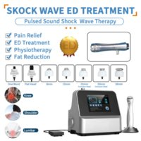 2021 Shock Wave Pain Relief Therapy Treatment Machine Shockwave Machines Acoustic Radial Body Pains Relax Massage