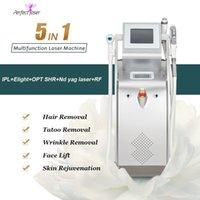 Многофункциональный лазерный аппарат IPL Opt Epilator эпилятор для удаления волос Удаление волос ND YAG Лазеры Красочные татуировки Родины при родике салона