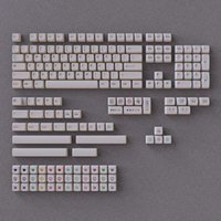 Colorful Pencil Design Sample White Keycaps For Cherry Mx Switch Mechanical Keyboard NP XDA Profile Sublimation PBT Flat Key Cap Keyboards