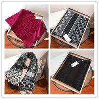 2021 lenços para mulheres designer lã lenço de seda para mulheres senhoras inverno xales cachecóis pashmina moda longo anel drawship
