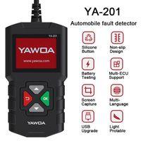 YA-201 OBD2 Strumento diagnostico auto Automotive Scanner Analyzer Analyzer Reader Code Reader OBDII Scan PK CR3001 Strumenti