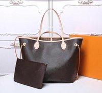 Designer Taschen Frauen Crossbody Bag Echte Handtaschen Geldbörsen Lady Tote Münze Geldbörse 2 STÜCKE