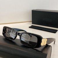 0096 Gafas de sol Forma cuadrada Retro Mujeres Moda Gafas de sol Lentes Classic Metal B Style Goggle Top Calidad UV 400