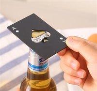 Spade A Credito Carta da gioco creativa Acciaio inossidabile Strumenti per la casa Apribottiglie Apri Birra Birra OpenerFuax 1854 V2