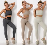 Tracksuits Designer yoga wear Womens Suit Gym outfits Sportwear Fitness Align pant Leggings workout set tech fleece runner woman sexy t shirts new style for girls bra