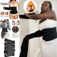 Women's Shapers Waist Trainer For Women Tummy Wrap Trimmer Belt Slimming Body Shaper Plus Size Invisible Support