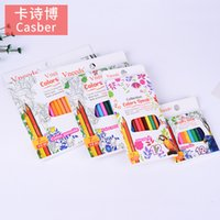 Pencils Color lead suit 12   18   24 color environmental protection color cil creative painting free shar ing cil