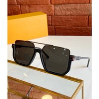 Designer Brand Sunglasses Of Oversized Fashion Square Unico Quadrato per uomo Donna polarizza 100% Anti-Ultraviolet Lens 7 Color Box casuale opzionale