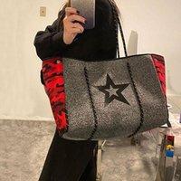 Cross Body SUNNY BEACH Luxury Women Shoulder Bag Large Neoprene Light Handbags Bolsas Female Travel Holiday