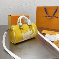 2021 Французский бренд дизайнерские сумки на плечо женские моды роскошная кожа быстрый нано подушка сумка ретиро печатная сумочка