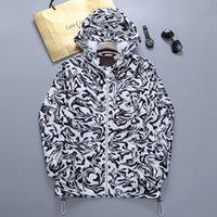 남성용 재킷 망 힙합 코트 스트리트웨어 편지 인쇄 폭탄 오버 코트 남성 윈드 브레이커 의류 남성 자켓