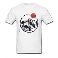 Jungen Tee Sonnenuntergang in kanadischen Rockies Mountain White Herren Tshirt Mexikaner Schädel kommende Männer Landschaftslandschaft Ansicht T-shirt Reine schamlose Kinderkleidung