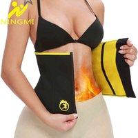 Ningmi Body Sharmers Тонкий талийский тренер для женщин Неопреновая сауна ремешок жир сжигающий ремень Cincher Gillles похудение