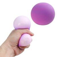 크리 에이 티브 다채로운 통풍 반죽 공 FIDGET 장난감 스트레스 구호 압착 소프트 참신 손잡이 압력 quishy squishmallow y0410