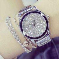 BS Bee Сестра Женские Часы Лучшие Роскошный Алмаз Подлинные Дамы Часы Reloj Mujer 210707