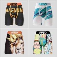 PSD Underwear Men Boxers Breif Pattern Sports Hip Hop Rock Excise Underwear Skateboard Street Fashion Streched Legging G41902