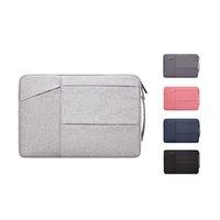 Bolsa de laptop 13.3 14.1-15.4 15,6 polegadas Capa de manga de caderno Caso à prova d 'água capa protetora pasta com punho 1xbjk2105