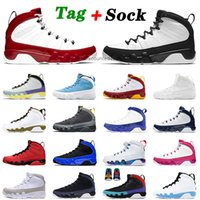 9 9s IX Basketball Shoes Gym Red Univeristy Blue Mens Womens Jumpman Change The World Black Orange Outdoor Trainers Sneakers 40-47