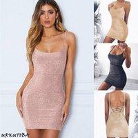 Femmes Summer Sexy Serrures Sans Sans Sans Soirée Bullcon Clubwear Robes Dames Soirée Parti Solid Hous Soldess Mini Chemise Robe Robe de mode M3LM #