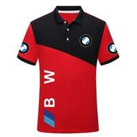 2021 Costume de jersey de moto cross-country costume de course estival à col rond T-shirt à manches courtes GP revers Polo costume Plus peut être personnalisé