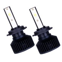 Car Headlights 2pcs F9 H7 H11 H13 9004 9005 9006 LED Decoding Front Bulbs Lights Auto Accessories