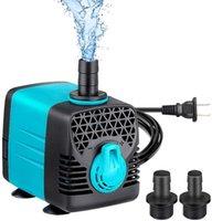 Pompes à air Accessoires Pompe à eau submersible 1200L / H 320GPH Fontaine 25W Pond Aquarium Tank Ultra-silencieux pour l'hydroponie