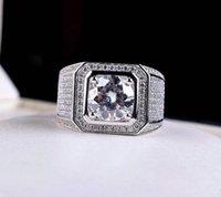 Men's Ring Full Diamond Fashion Adjustable