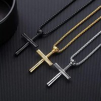 Pendant Necklaces Personality Creative Punk Style Exquisite Baseball Bat Necklace Men's Trend Party Casual Jewelry