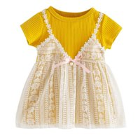 Girl's Dresses Summer Baby Girl Dress Toddler Infant Lace Princess Wedding For Girls Children Birthday Party Kids Clothes 2021.